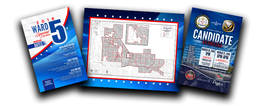 City of Las Vegas Ward 5 Special Election Marketing Collateral