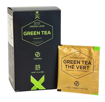 Ganoderma Organic Green Tea Sample