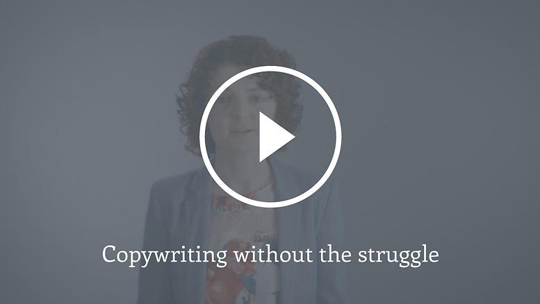 Video still Great Copy Matters copywriting without the struggle