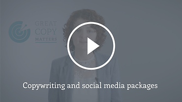 Video still copywriting and social media packages