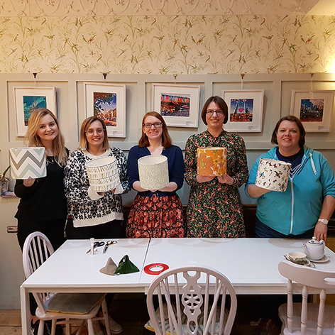 Margot May Tearooms - Lampshade Workshop