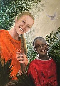Siena and Zac in Haiti.JPG
