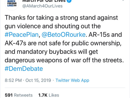 "CNN: Destroying Beto O'Rourke and the March For Our Lives ""Peace Plan"" in one sentence"