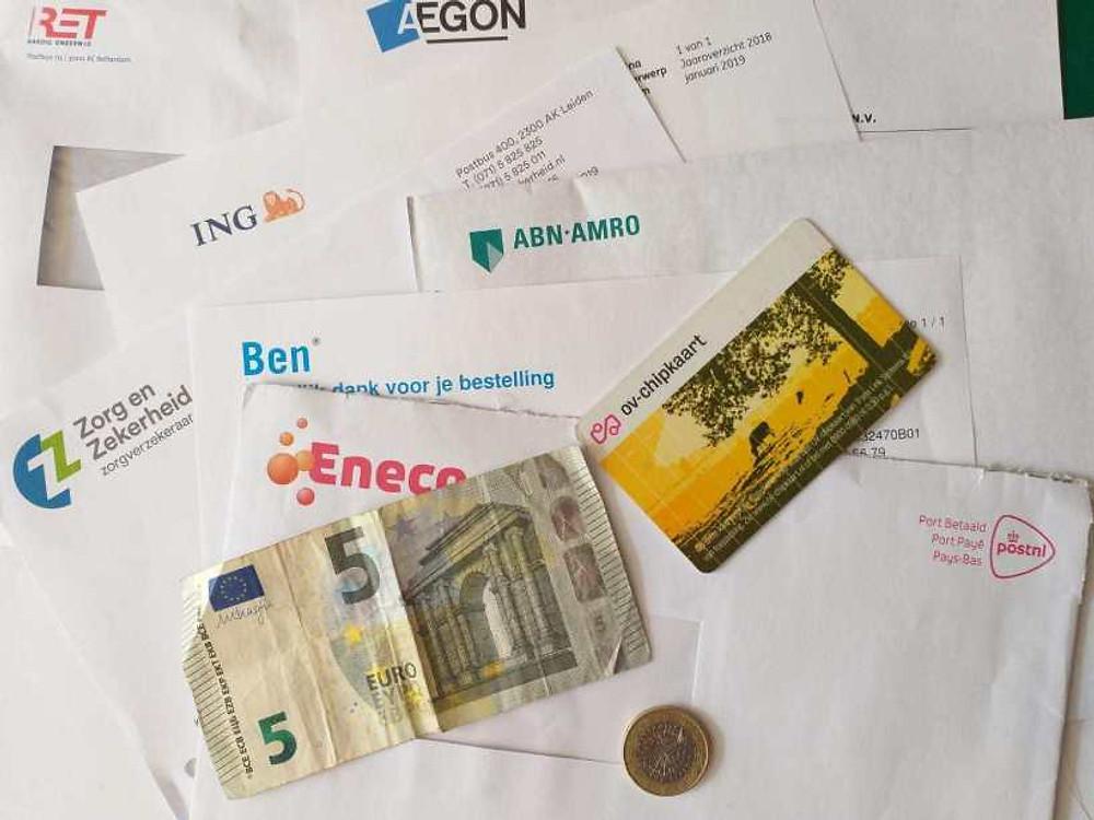 Dinheiro na Holanda