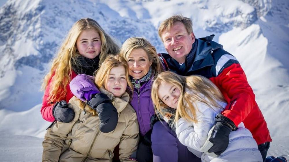 Familia real holandesa na Austria