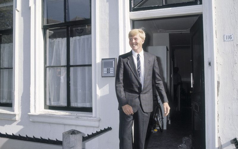 Ainda principe em Leiden