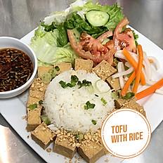 Tofu with Rice