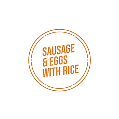 Sausage & Eggs with Rice