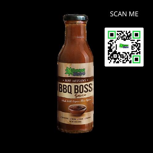 Hemp Infused BBQ Boss Sauce