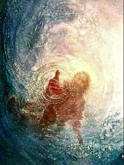 jesus - water