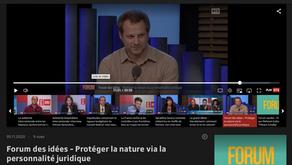 L'Appel du Rhône dans le Forum des idées - Protéger la Nature via la personnalité juridique