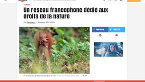 Le réseau francophone dédié aux Droits de la Nature dans Libération