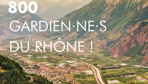 800 gardiennes du Rhône