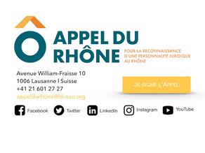 Je signe l'Appel du Rhône