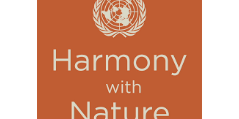 9TH ANNUAL INTERNATIONAL CONFERENCE ON RIGHTS OF NATURE FOR PEACE AND SUSTAINABLE DEVELOPMENT