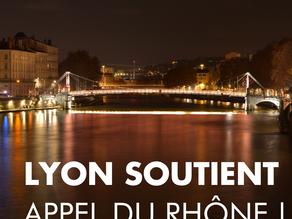 Le Maire de Lyon, Grégory Doucet, interviewé sur la signature de l'Appel du Rhône par la ville.