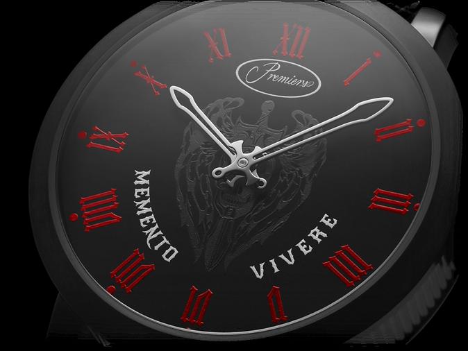 Premiers Swiss Luxury Watch Memento Vivere Dial