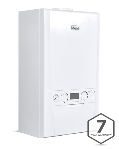 Ideal Logic Plus with 7 year warranty