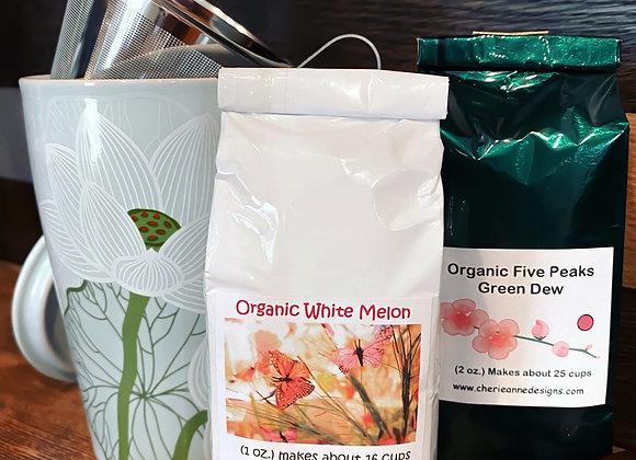 LOTUS Steeping Cup & Leaf Tea Set