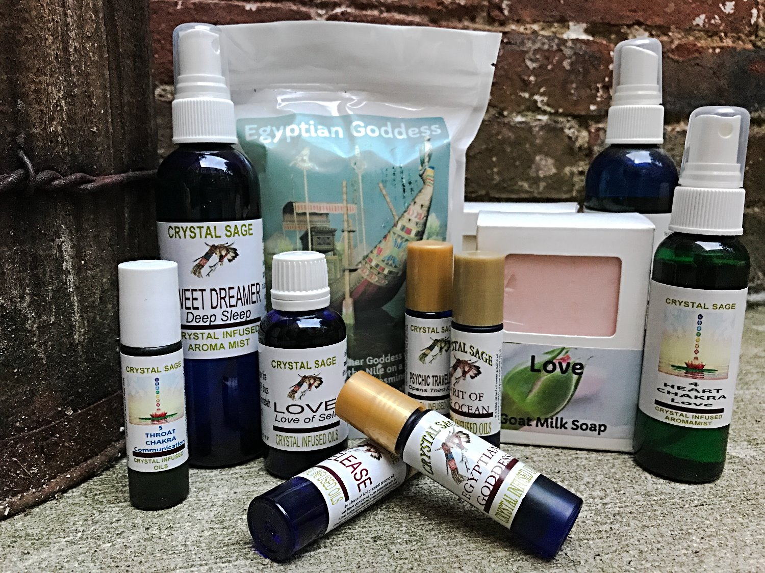 Crystal Sage Products