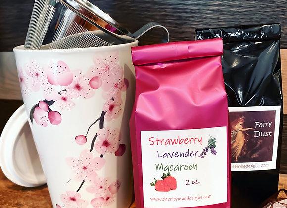 HANAMI Steeping Cup & Leaf Tea Set