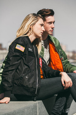 Catherine for Alpha Industries