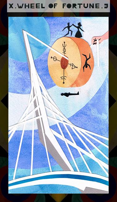 X. Wheel of Fortune