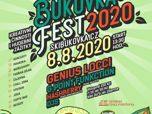 Bukovka fest 2020 - festival pro celou rodinu v přírodě!