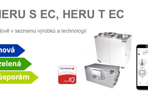 Rekuperační jednotka HERU v Nová Zelená úsporám