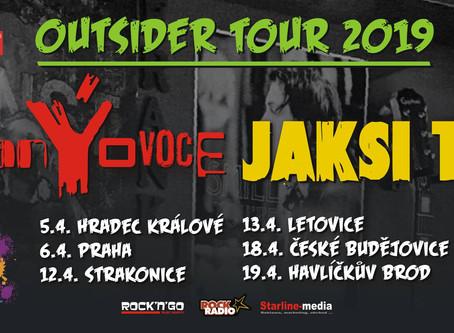 5.dubna Zakázaný Ovoce & Jaksi Taksi v Hradci Králové U Bejka (koncert)