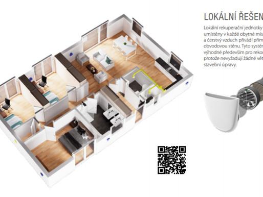Rezidenční větrání pro rodinné domy a byty