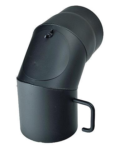 Koleno s klapkou průměr 130 mm 90° a čistícím otvorem