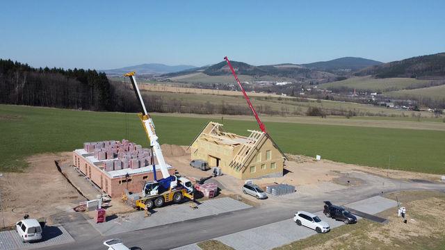 Skiresort Buková hora - stavba nového penzionu