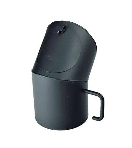 Koleno s klapkou průměr 175 mm 45° a čistícím otvorem