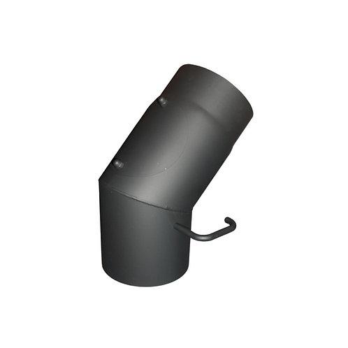 Koleno s klapkou průměr 200 mm 45°