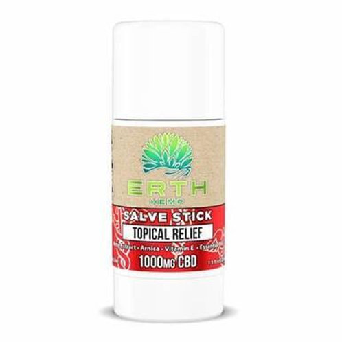 ERTH - CBD Topical - Essential Oil Pain Stick Salve - 250mg-1000mg