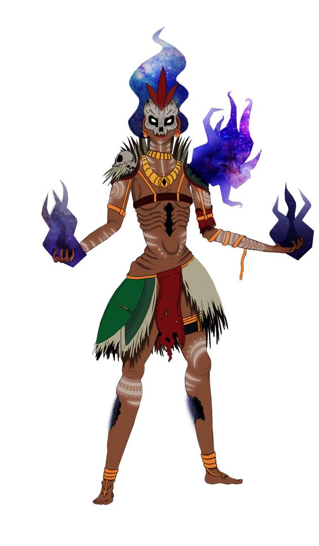 Voodoo Witch Doctor Concept