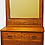Thumbnail: Antique American Chestnut Carved Dresser w/Mirror