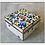 Thumbnail: Vintage Cloisonne Enameled Floral Jewelry Box