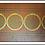 Thumbnail: Antique Paris Mfg Co Painted Sled /Circa 1890-1910