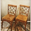 Thumbnail: Vintage Rattan Chinese Chippendale Chairs