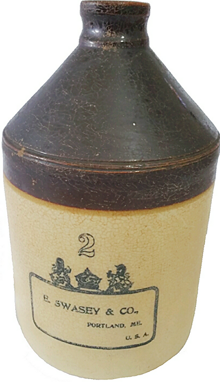 Antique Jug (E.Swasey & Co.) (Circa 1891-1897)
