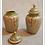 Thumbnail: Vintage Cloisonne Vase Set of Three