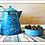 Thumbnail: Granite-Ware Large Bowl (Blue and White)