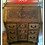 Thumbnail: Antique Slant Drop Oak Carved Secretary Desk