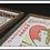 Thumbnail: Queen of Hearts & Cock Robin Framed Flour Sacks