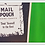 """Thumbnail: Vintage MAIL POUCH """"Chew Tobacco"""" Thermometer"""