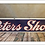 Thumbnail: 1920's Porcelain Peters Shoes Advertising Sign