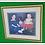 Thumbnail: Large Gold Framed Print (Two Girls & Dog)