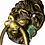 Thumbnail: Solid Brass Vintage Lion Head Pulls